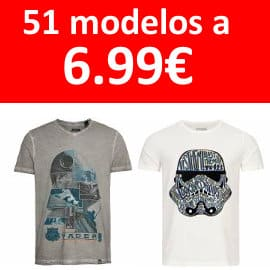 Camisetas Gozoo x Star Wars baratas, ropa de marca barata, ofertas en camisetas
