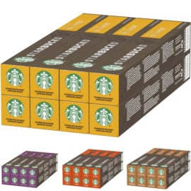 Capsulas de cafe Starbucks Blonde Espresso Roast De Nespresso baratas. Ofertas en supermercado