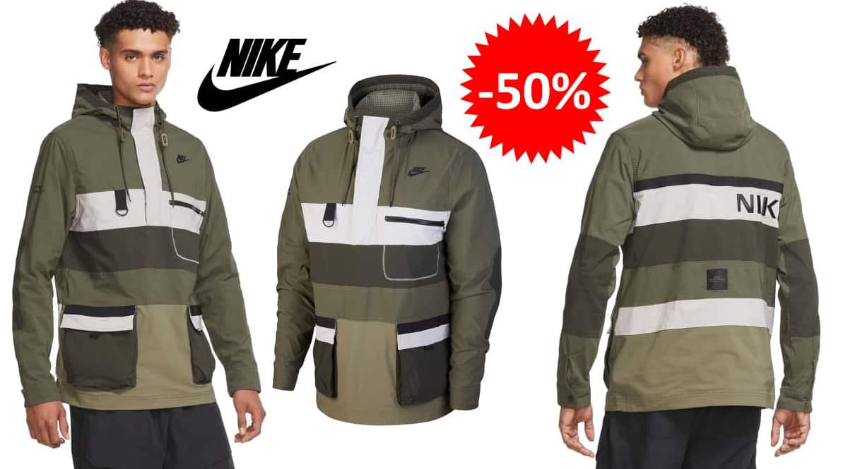 Chaqueta Nike Hype Hike barata, ropa de marca barata, ofertas en chaquetas chollo