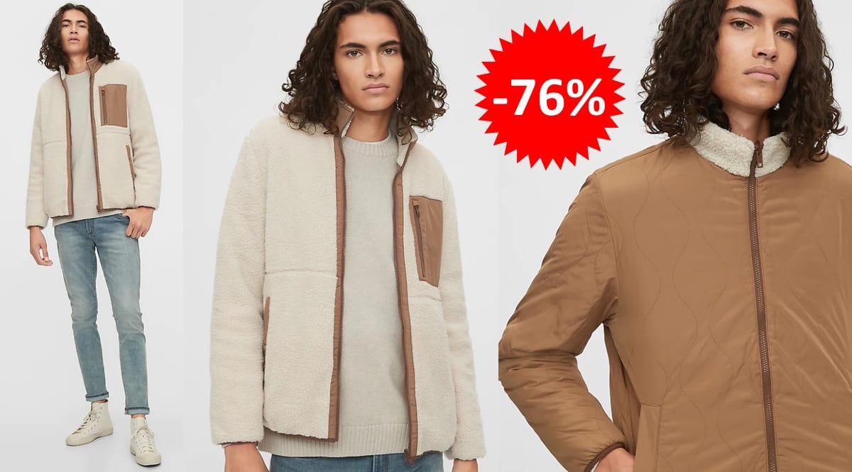 Chaqueta reversible GAP barata, ropa de marca barata, ofertas en chaquetas chollo