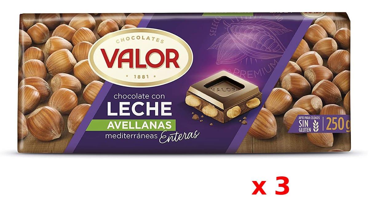 Chocolate Valor avellanas barato, chocolate de marca barato, ofertas en supermercado, chollo
