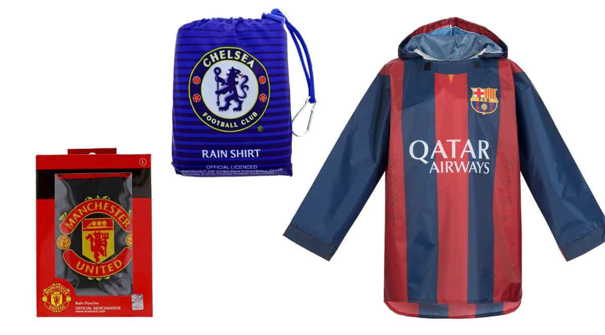 Chubasquero del Barcelona, Chelsea o Manchester United barato, ropa de marca barata, ofertas en material deportivo chollo