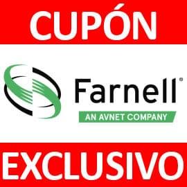 Código descuento exclusivo Farnell Electronica, electrónica barata, ofertas en electrónica
