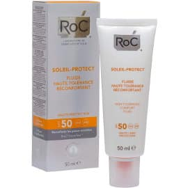 Crema con protección SPF50 ROC Soleil Protect barata, protectores solares de marca baratos, ofertas en belleza