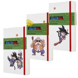 Cuadernos Moleskine Dragon Ball baratos, libretas baratas, ofertas en material escolar