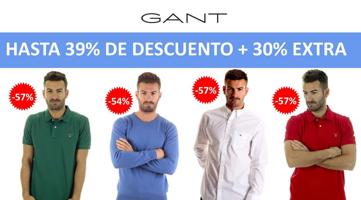 Descuento EXTRA Gant en Dakonda barato, ropa de marca barata, ofertas en ropa chollo