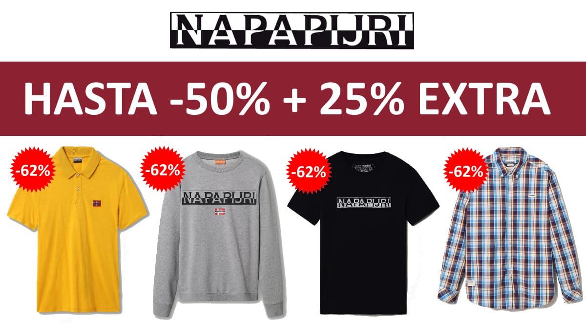 Descuento EXTRA Napapirji abril barato, ropa de marca barata, ofertas en ropa chollo
