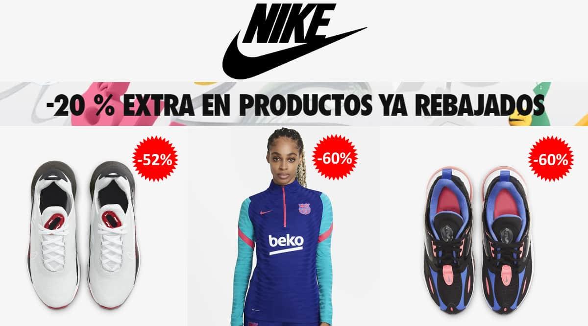 Descuento extra Nike abril barato, ropa de marca barata, ofertas en calzado chollo