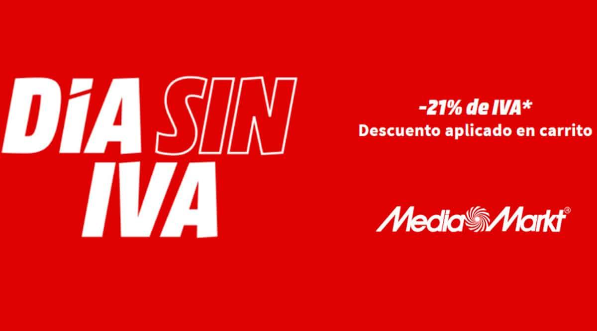Día Sin IVA MediaMarkt Abril 2021