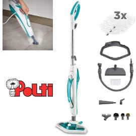 Escopa a vapor con limpiador portátil y 13 accesorios Polti Vaporetto SV450_DOUBLE barata, limpiador a vapor de marca barato, ofertas hogar