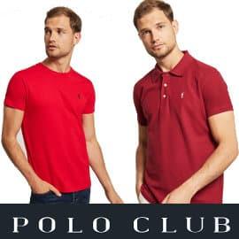 Flash Sale en polos y camisetas Polo Club, polos y camisetas de marca baratas, ofertas en ropa