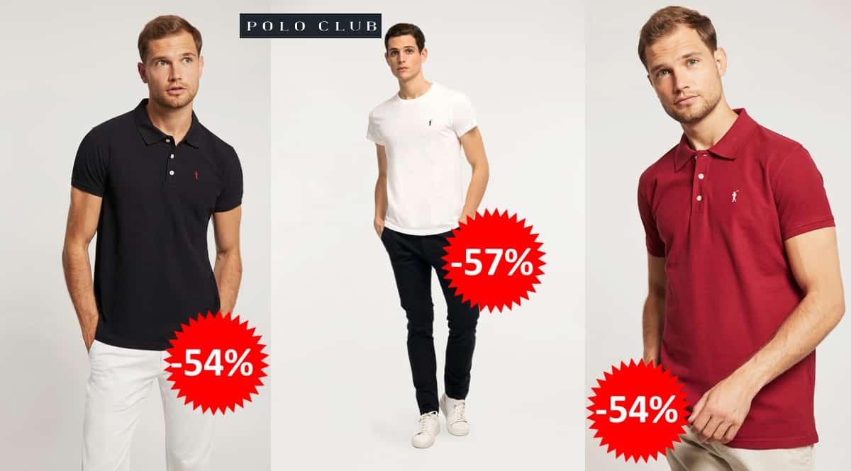 Flash Sale en polos y camisetas Polo Club, polos y camisetas de marca baratas, ofertas en ropa, chollo