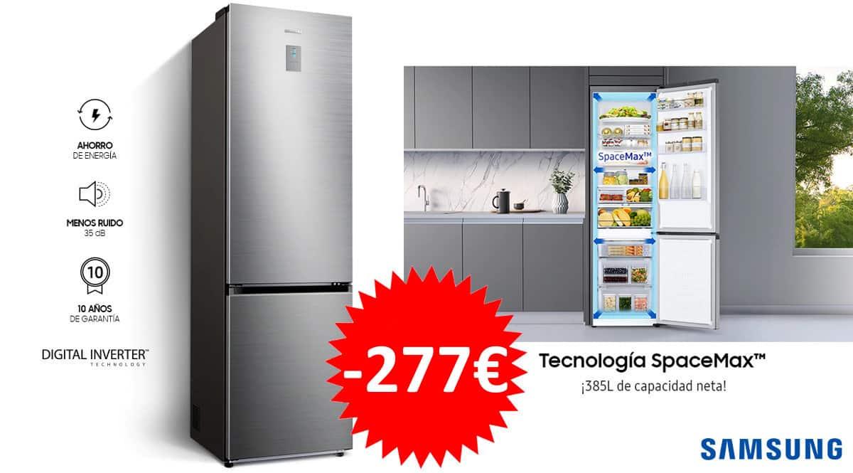Frigorifico Samsung Combi RB38T671DSA 385L Inox barato. Frigorificos baratos, ofertas en frigorificos,chollo