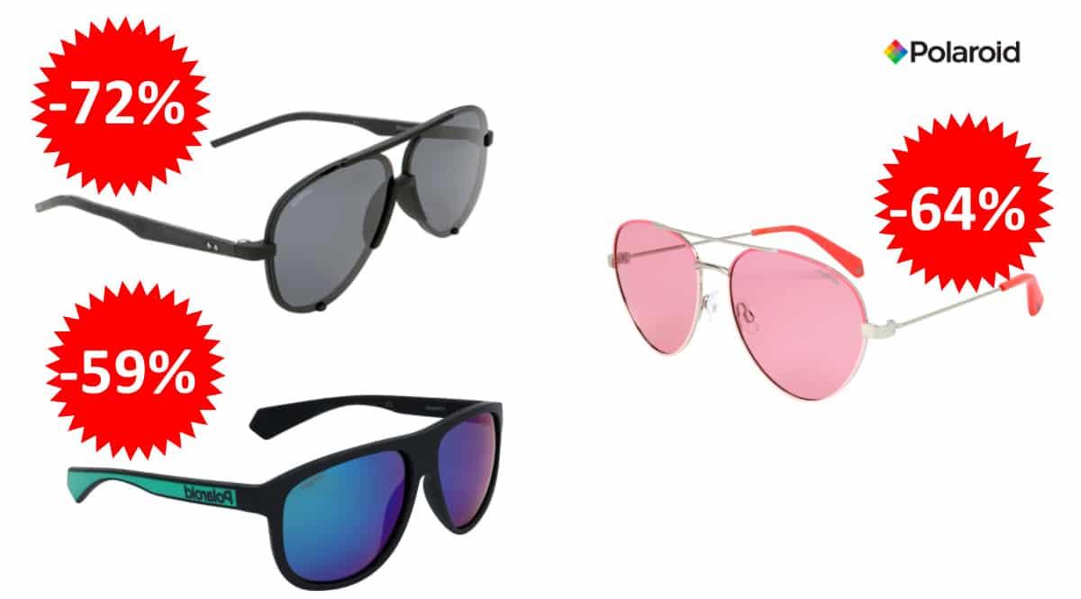 Gafas de sol Polaroid baratas, gafas de sol de marca baratas, ofertas en óptica, chollo