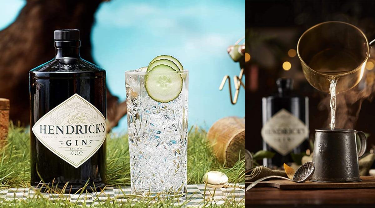 Ginebra Premium Hendrick's barata. Ofertas en ginebra, ginebra barata, chollo