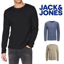 Jersey de punto Jack & Jones Jjrol barato, jerséis de punto de marca baratos, ofertas en ropa