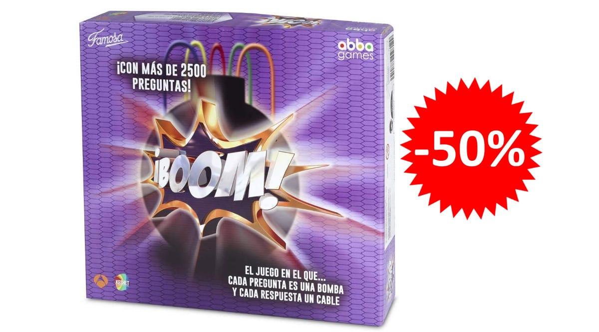 ¡Precio mínimo histórico! Juego de mesa Boom sólo 19.95 euros. 50% de descuento.