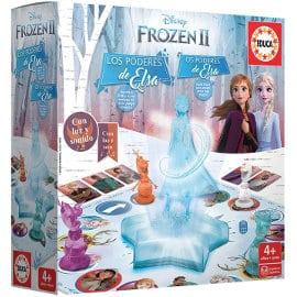 Juego de mesa Frozen II Los Poderes de Elsa barato, juguetes baratos, ofertas para niños