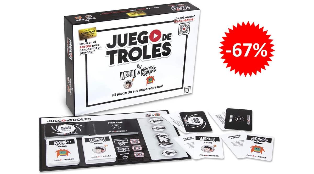 Juego de mesa Juego de Troles barato, juegos de mesa baratos, ofertas en juguetes chollo