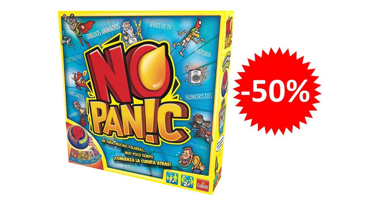 ¡Precio mínimo histórico! Juego de mesa No Panic sólo 15 euros. 50% de descuento.