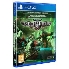 ¡Precio mínimo histórico! Juego para PS4 Warhammer 40.000: Mechanicus sólo 12.49 euros. 69% de descuento.