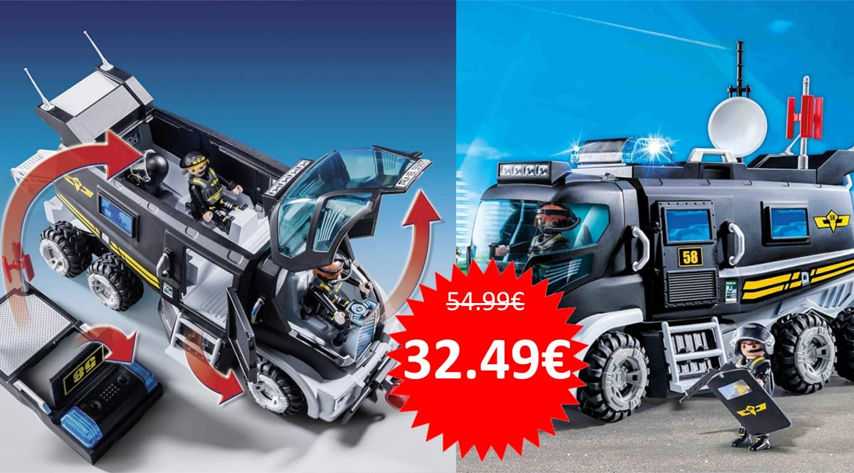 Juguete Playmobil City Action Vehículo con LED barato. Ofertas en juguetes, juguetes baratos, chollo