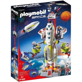 Juguete Playmobil Space - Cohete con plataforma barato. Ofertas en juguetes, juguetes baratos