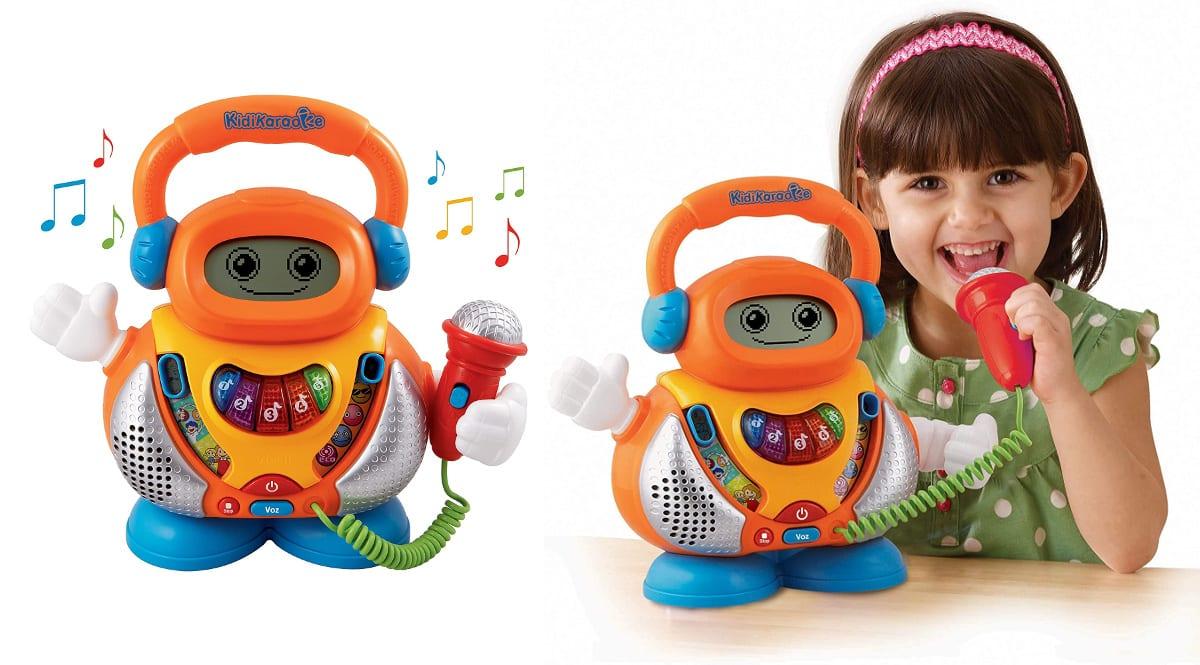 Karaoke interactivo Kidikaraoke VTech barato, juguetes baratos, ofertas para niños chollo