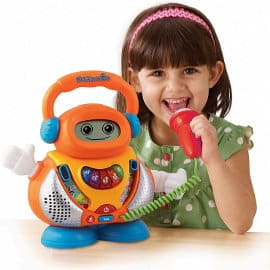 Karaoke interactivo Kidikaraoke VTech barato, juguetes baratos, ofertas para niños