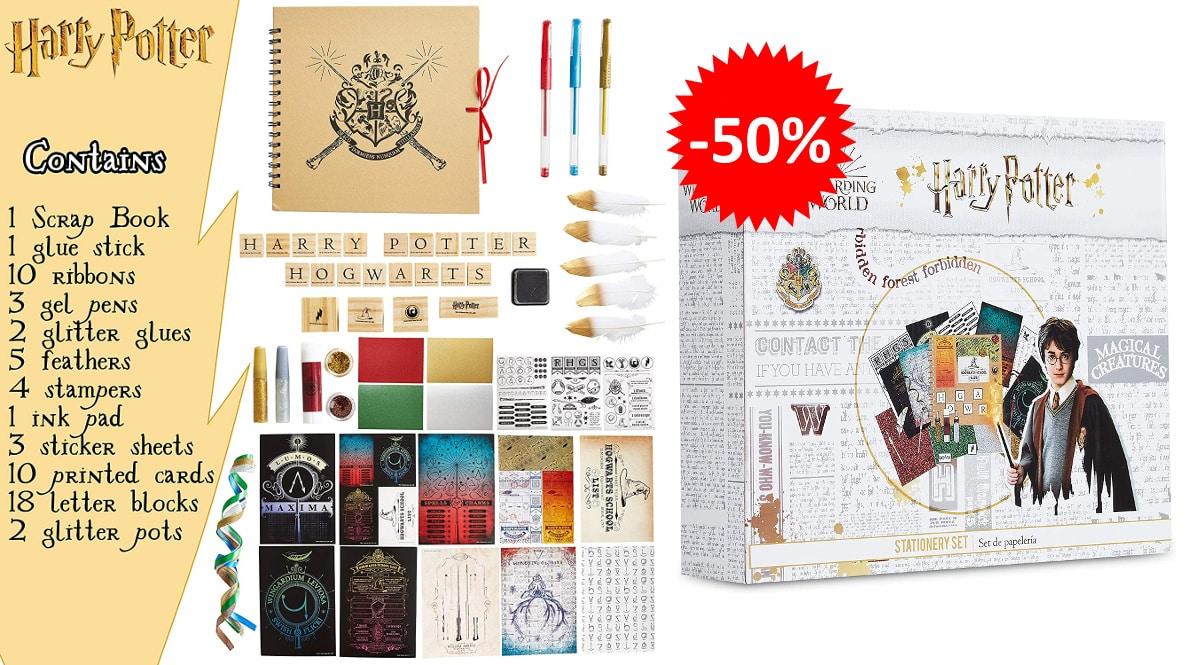 Kit de scrapbooking de Harry Potter baratos, manualidades baratas, ofertas en papelería chollo