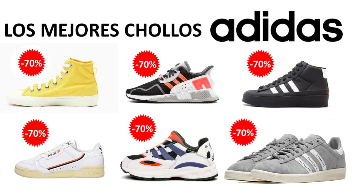 Las mejores ofertas en zapatillas Adidas, calzado de marca barato, ofertas en zapatillas chollo