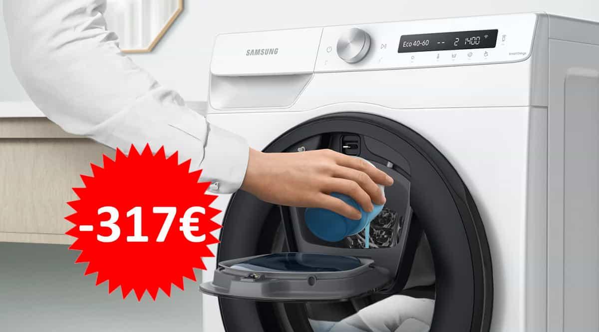 Lavadora Samsung Serie 5 WW90T554DTW barata. Ofertas en electrodomésticos, electrocomésticos baratos, chollo