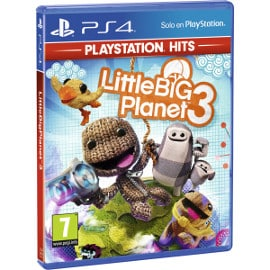 ¡¡Chollo!! Little Big Planet 3 para PS4 sólo 8.99 euros. 55% de descuento.
