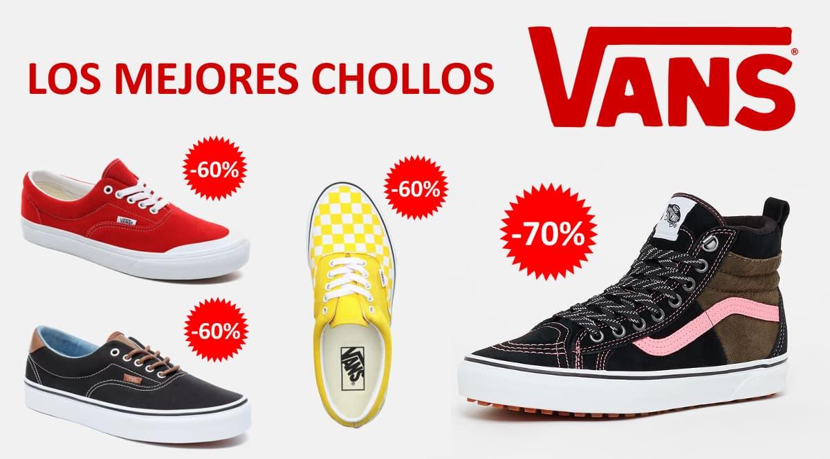 Los mejores chollos en Vans, calzado barato, ofertas en zapatillas chollo