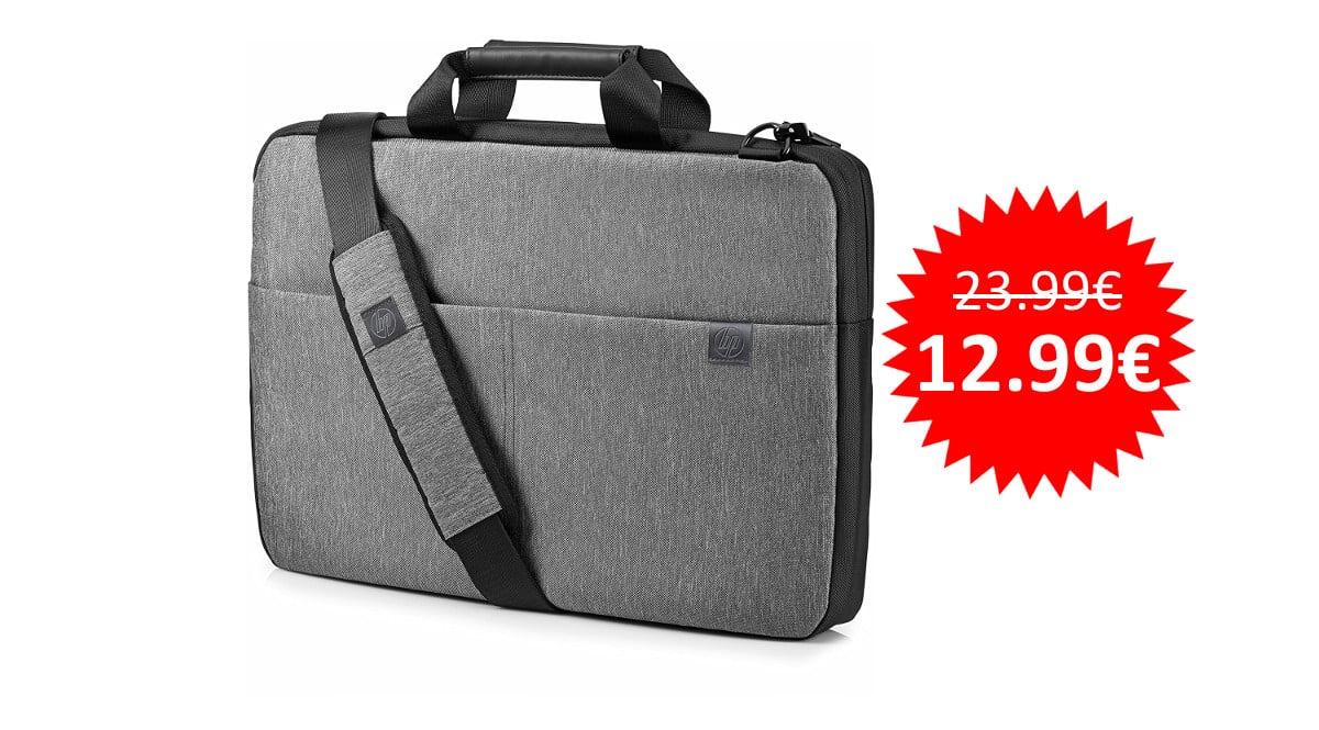 ¡Precio mínimo histórico! Maletín para portátil de hasta 15.6″ HP Signature Slim sólo 12.99 euros.