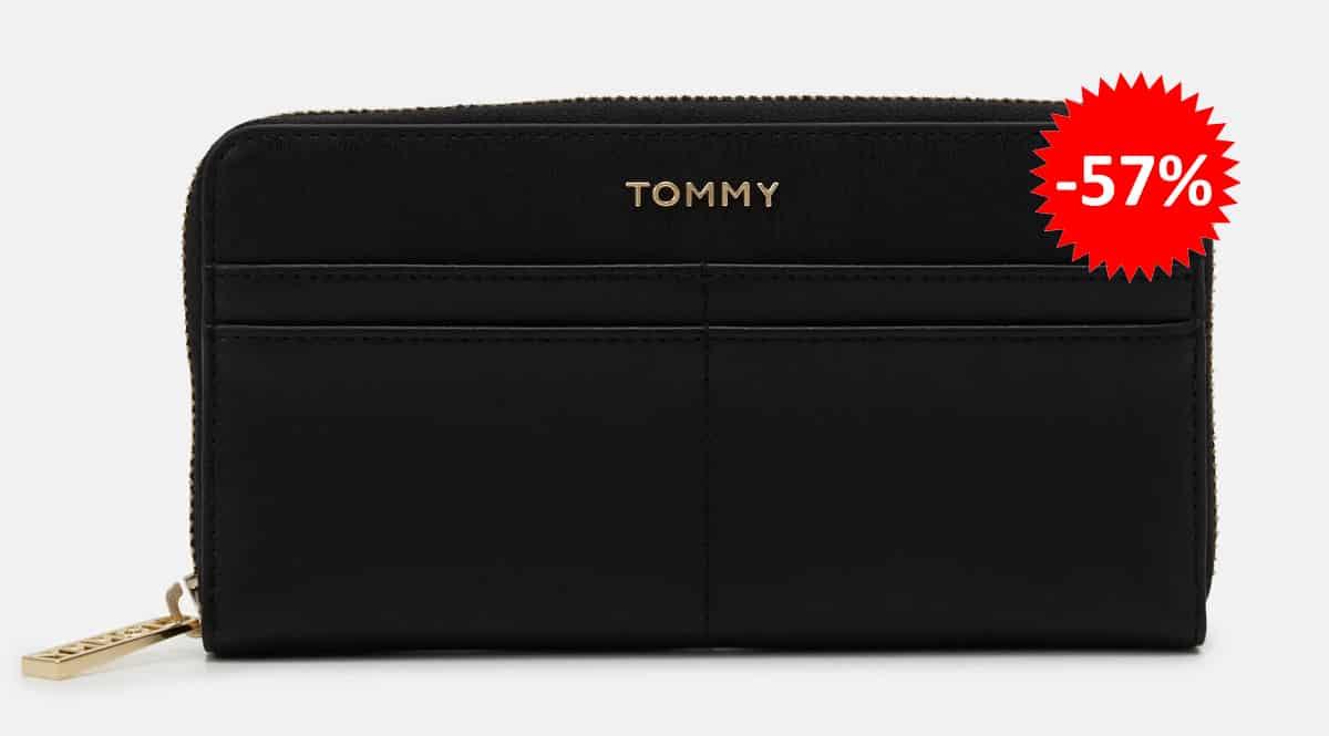 Monedero Tommy Hilfiger Iconic Tommy Large barato, carteras baratas, ofertas en complementos chollo