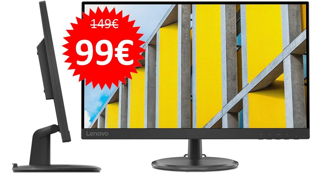 Monitor Lenovo C27-35 barato. Ofertas en monitores, monitores baratos, chollo