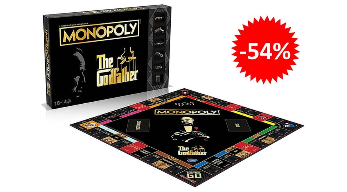 Monopoly El Padrino barato, juegos de mesa baratos, ofertas en juguetes chollo