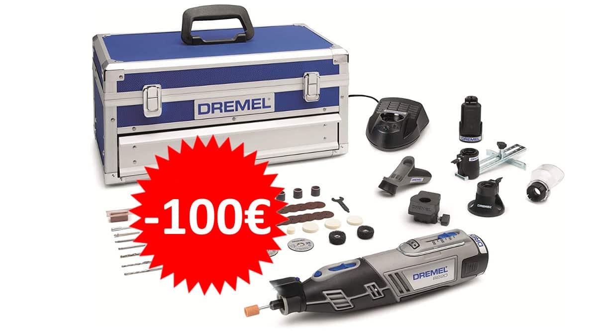 Multiherramienta inalámbrica Dremel Platinum Edition 8220 barata. Ofertas en herramientas, herramientas baratas, chollo