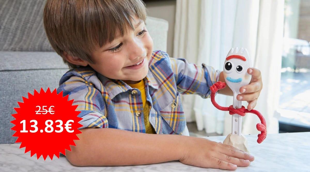 Muñeco Forky Parlanchín de Toy Story 4 barato, juguetes baratos, ofertas para niños chollo