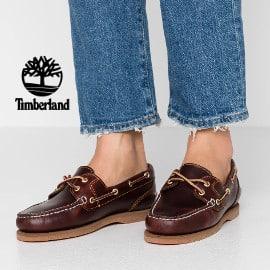 ¡¡Chollo!! Náuticos para mujer Timberland Classic 2-Eye sólo 59 euros. 58% de descuento.