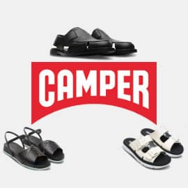 Ofertas en calzado Camper de verano, calzado de marca barato, ofertas en zapatos