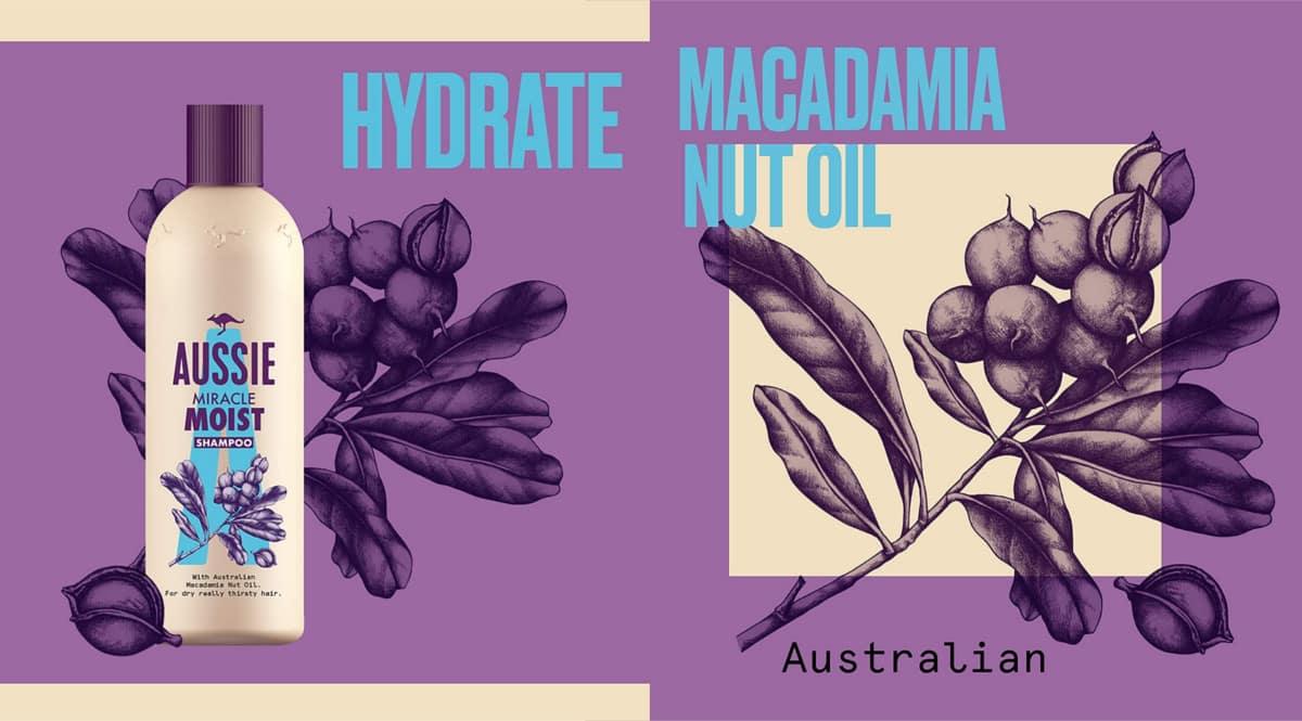 Pack champú Aussie Hydrate barato. Ofertas en supermercado, chollo