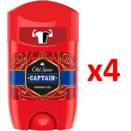 Pack de 4 desodorantes para hombre Old Spice Captain barato. Ofertas en supermercado
