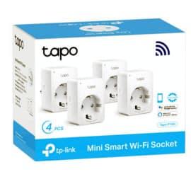 Pack de 4 enchufes inteligentes TP-Link Tapo P100 barato. Ofertas en enchufes inteligentes, enchufes inteligentes baratos