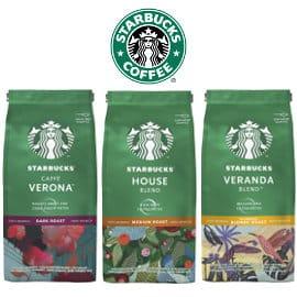 Pack de 6 bolsas de café molido Starbucks barato, café barato, ofertas en supermercado