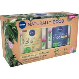 ¡Precio mínimo histórico! Pack de dos cremas Naturally Good de Nivea sólo 7.80 euros.