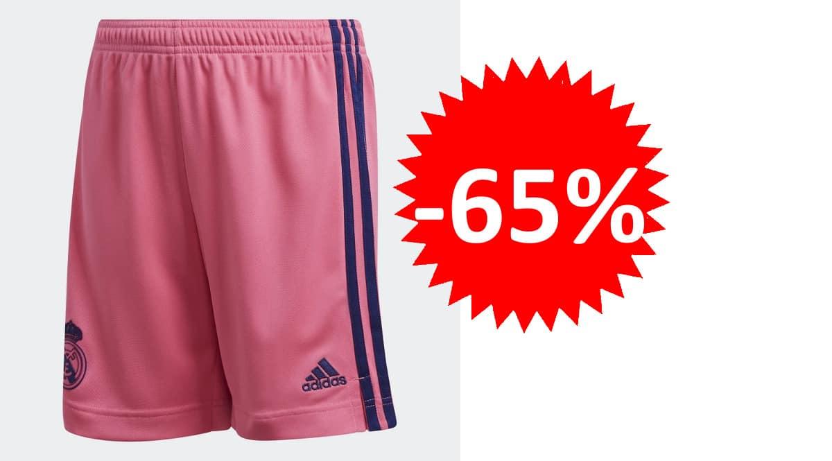 Pantalón corto Adidas Real Madrid barato, pantalones cortos de marca baratos, ofertas en ropa, chollo