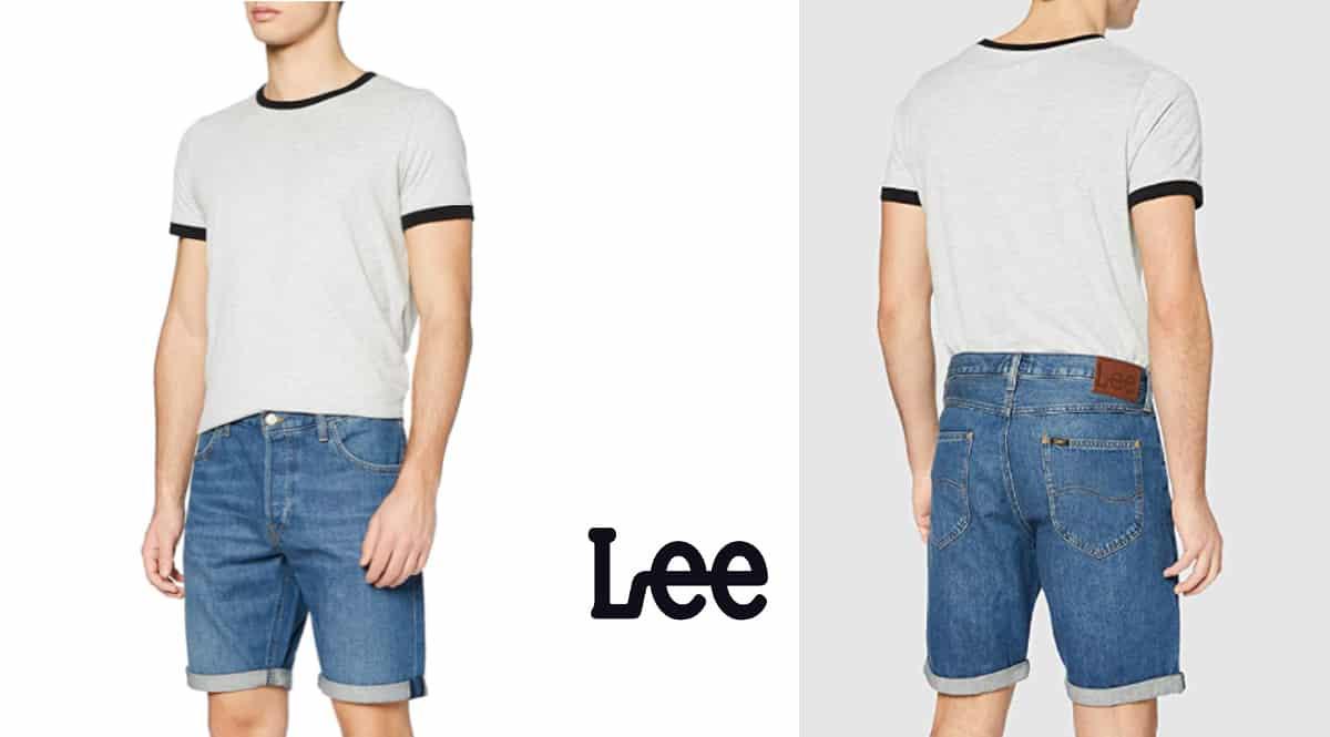 Pantalón corto Lee Short barato, pantalones de marca baratos, ofertas en ropa, chollo