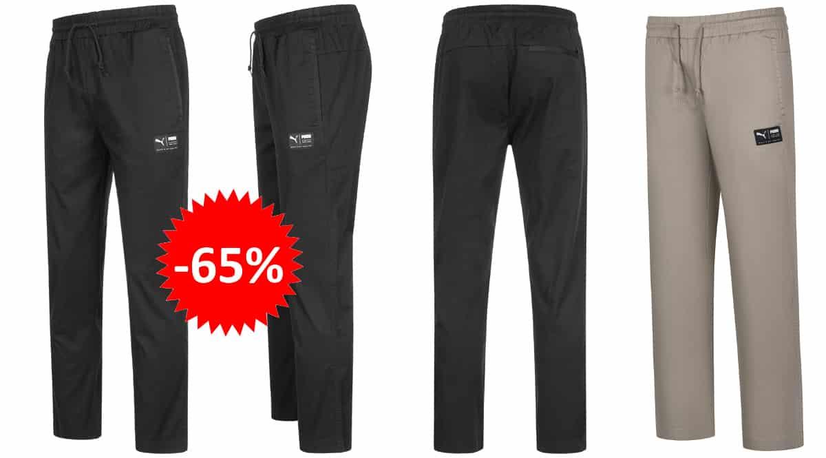 Pantalón de chándal Puma Downtown barato, ropa de marca barata, ofertas en pantalones chollo